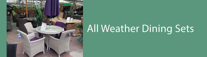 All weather outdoor dining sets for sale