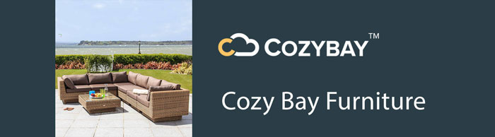 We are a stockist of Cozy Bay rattan garden furniture