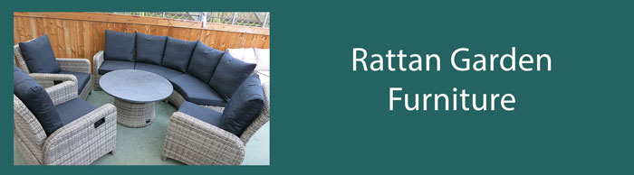 Our range of all weather rattan furniture