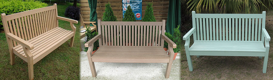 The Winawood 2 Seater Bench Range