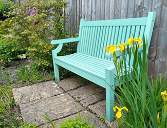all weather garden benches